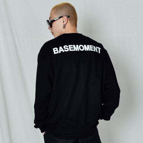 [BASEMOMENT] 3M Crew Heavy MTM Black