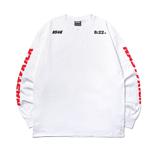 [NK] NMS N-SOLID LONGSLEEVE TEE WHT (NK19S024H)