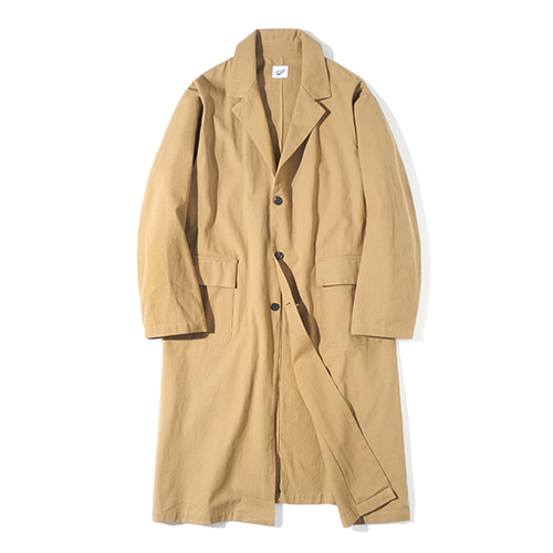 [파르티멘토] Single Long Coat Beige