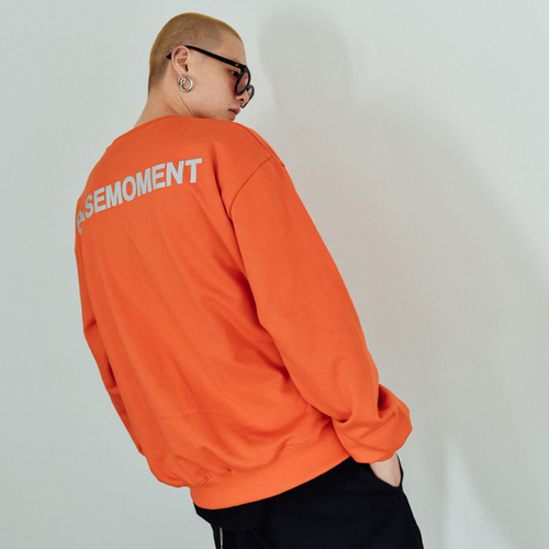 [BASEMOMENT] 3M Crew Heavy MTM Orange