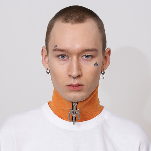 [OY] ZIPPER NECK WARMER - OR