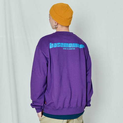 [BASEMOMENT] Express Heavy MTM Purple