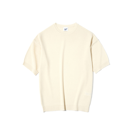 [파르티멘토] Full Needle 1/2 Knit Ivory