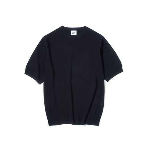 [파르티멘토] Full Needle 1/2 Knit Black