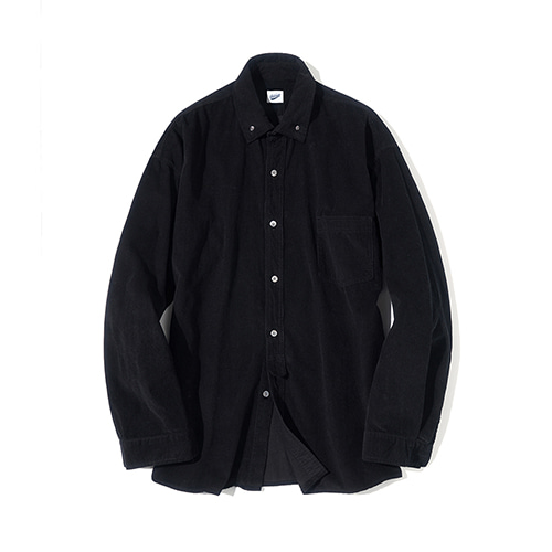 [파르티멘토] Corduroy Shirts Black
