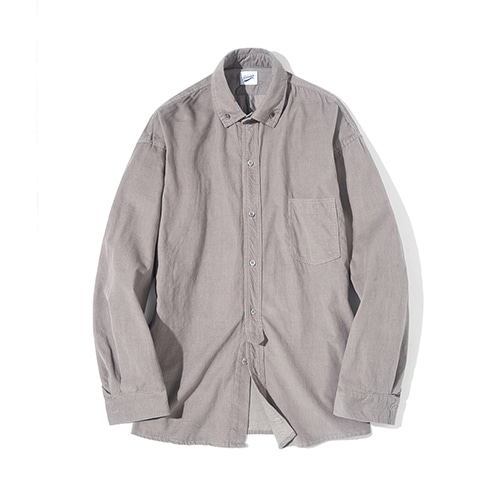 [파르티멘토] Corduroy Shirts Gray