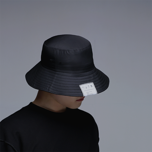 [D.XO.H] Label bucket hat