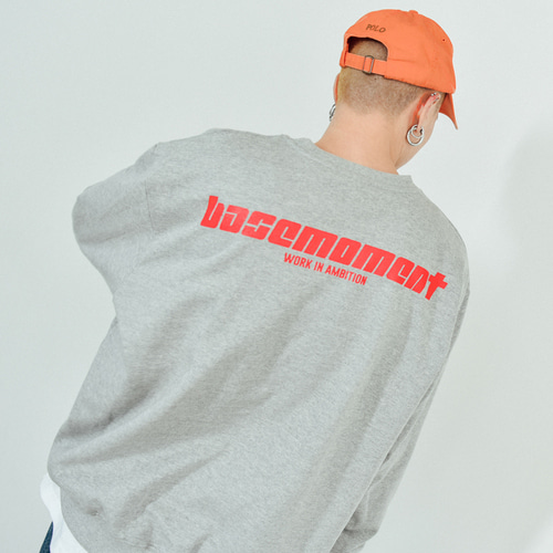 [BASEMOMENT] Express Heavy MTM Gray
