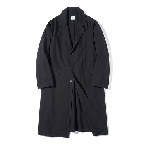 [파르티멘토] Single Long Coat Black