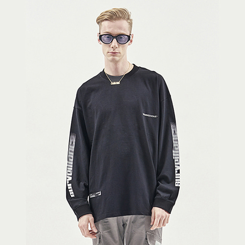 [RENDEZVOUZ] ARM SURVEIL LONG SLEEVE BLACK
