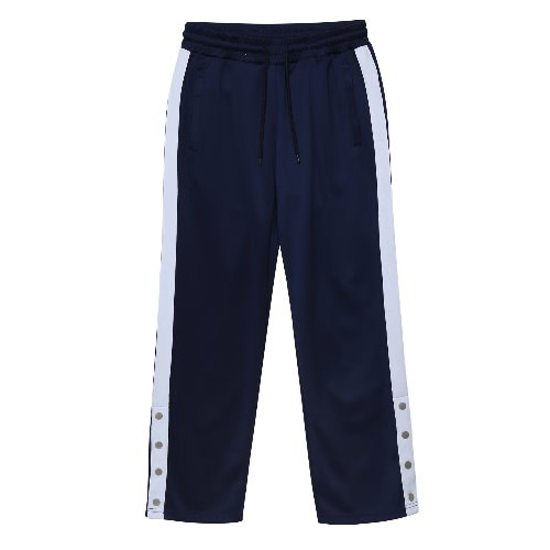 [ANOUTFIT] UNISEX SIDE BANDING TRACK PANTS NAVY