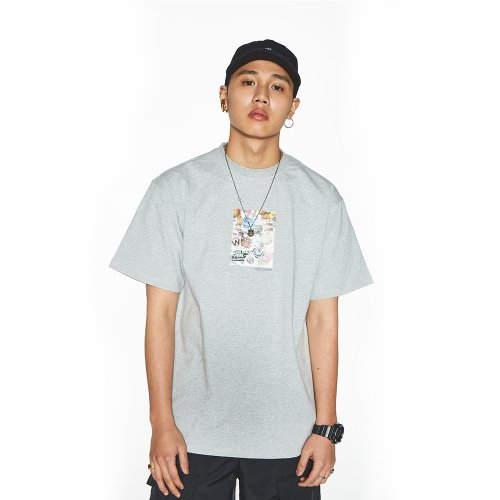 [Feel Enuff] 19' PHOTO T-SHIRTS - GRAY