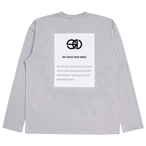 [NOWAVE] PATCH TEE - Gray