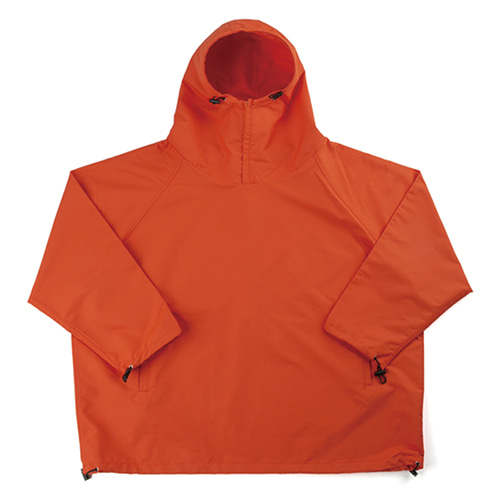 Ripstop Anorak Jacket - ORANGE