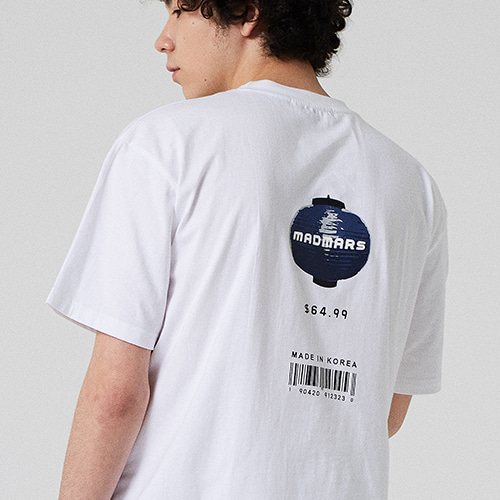 [매드마르스] KOREAN PAPER LAMP T-SHIRT_WHITE