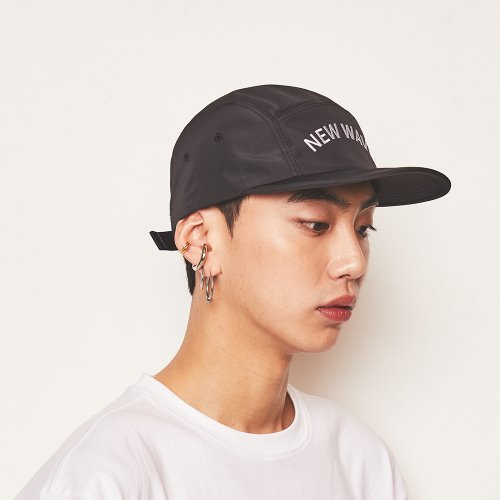 [Feel Enuff] NW CAMP CAP - BLACK