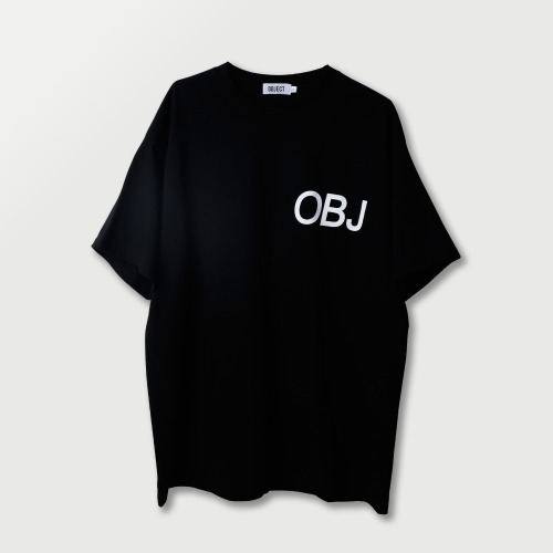 [OBJECT] OBJ WORLD T-SHIRT - BLACK