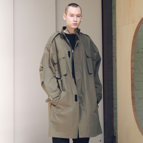 [MASSNOUN] SL LOGO M-51 FISHTAIL LONG COAT MSNCT002-KK