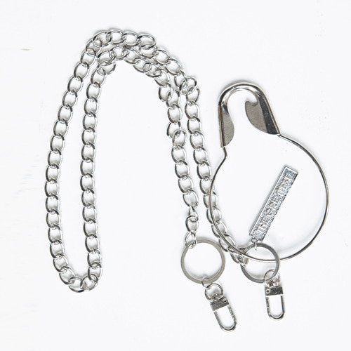 [THEGREATEST]GT19SS14 O SAFETY PIN CHAIN