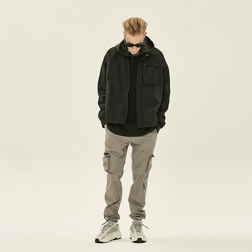 [DEADEND] METAL POCKET JACKET -BLACK