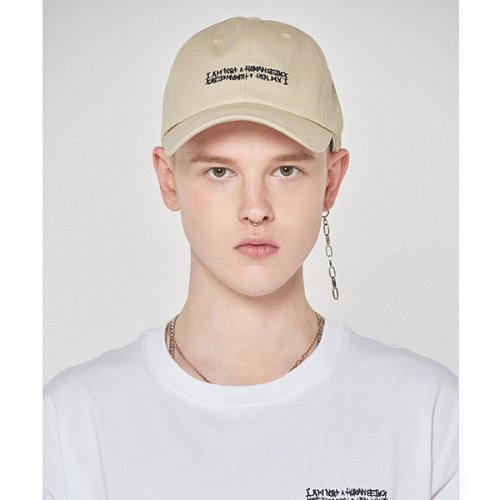 Basic Logo Hat - BEIGE