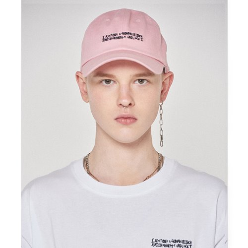 Basic Logo Hat - LIGHT PINK