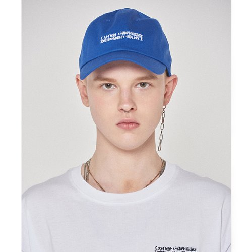 Basic Logo Hat - ROYAL BLUE