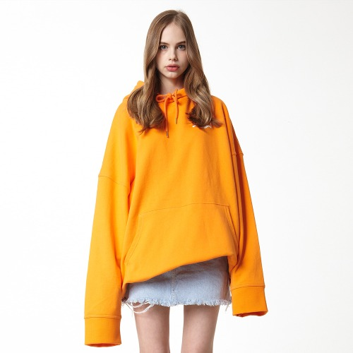 [DUCK DIVE] SURFBOARD_HOODIE_ORANGE