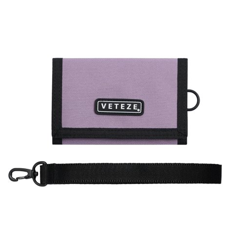 [VETEZE] Line Wallet (light purple)