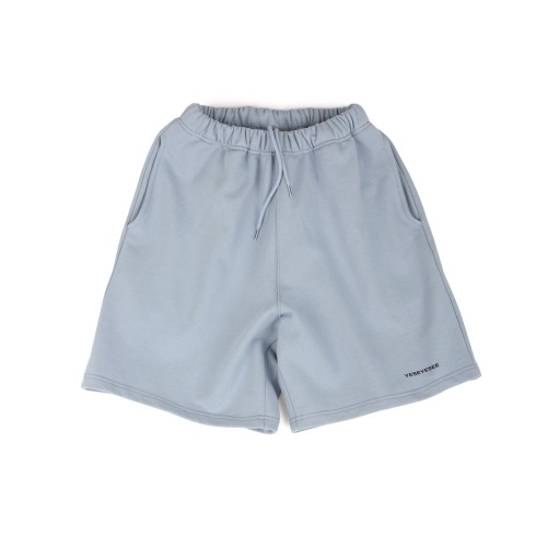 [YESEYESEE] Y.E.S Sweat Shorts Sky