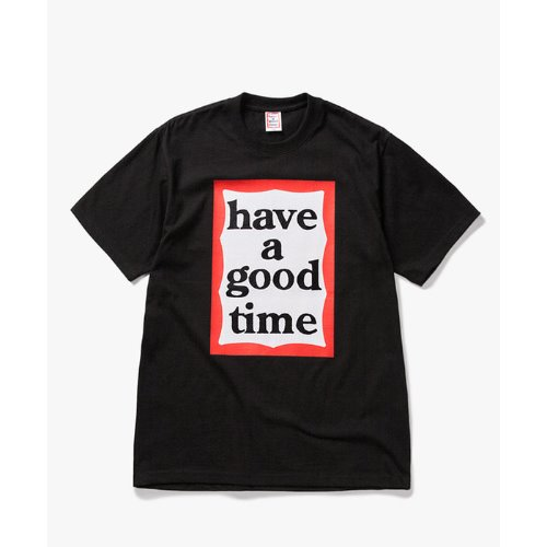 [Have a good time] Big Frame S/S Tee - BLACK