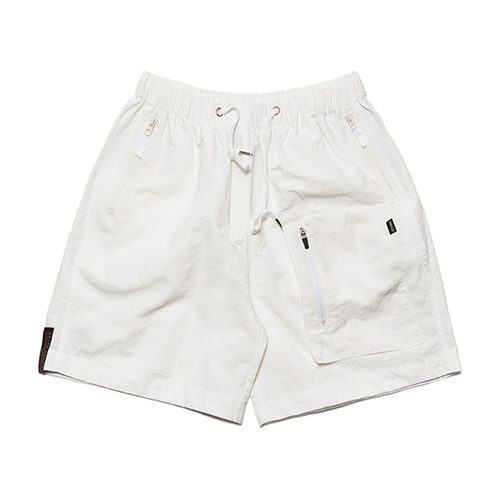 [STIGMA]STGM TECH SHORT PANTS - WHITE