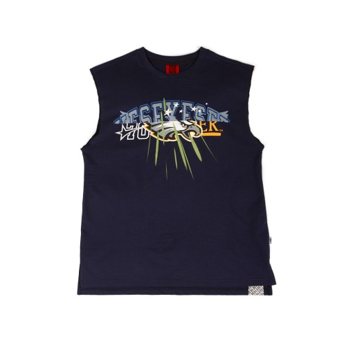[YESEYESEE] Reunion Sleeveless Navy