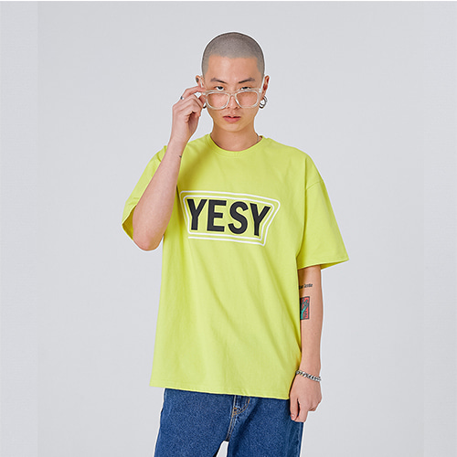 [YESEASY] YESY T_SHIRT - LIME