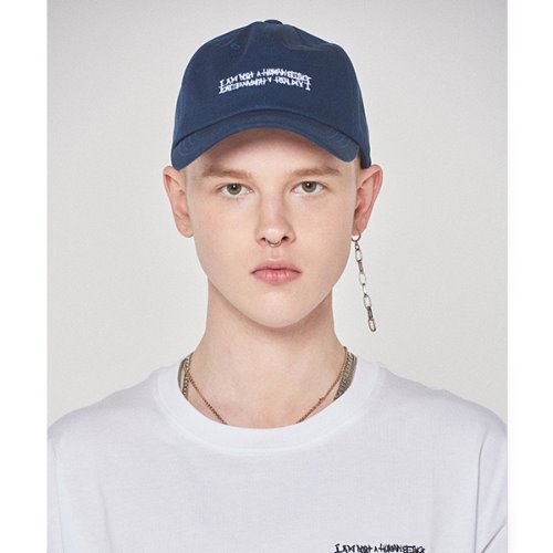 Basic Logo Hat - NAVY