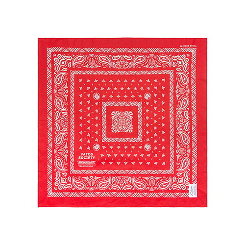 [STIGMA]VATOS BANDANA - RED