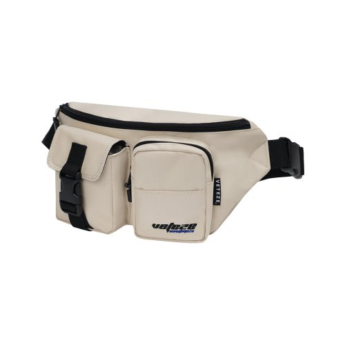 [VETEZE] True Up Waist Bag (light beige)