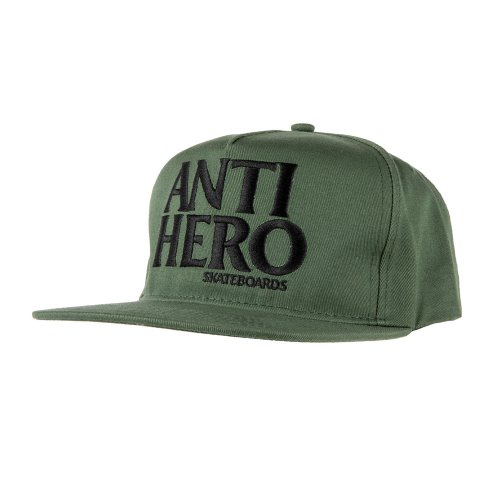 [Anti Hero] BLACKHERO Snapback Hat - DARK GREEN/BLACK 50020090A00