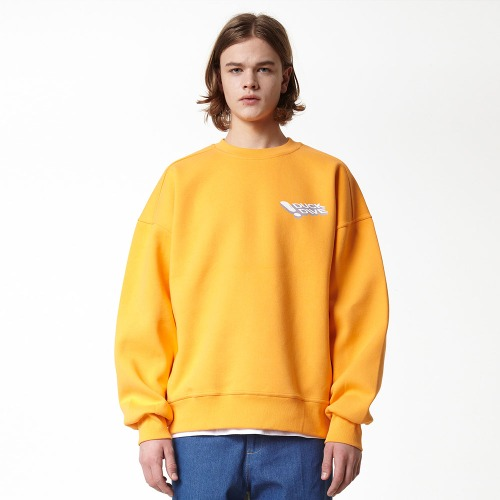 [DUCK DIVE] PFME_CREWNECK_ORANGE