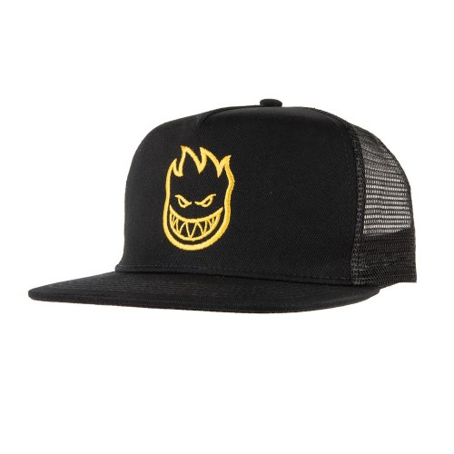 [Spitfire] BIGHEAD Trucker Hat - BLACK/YELLOW 50010160A00
