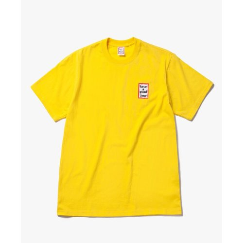 [해브어굿타임] Mini Frame S/S Tee - LEMON