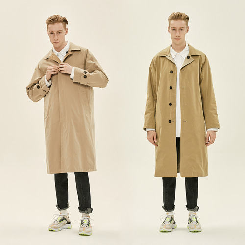 [DEADEND] REVERSIBLE MAC COAT -BEIGE