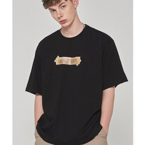 Box Logo Tee - BLACK