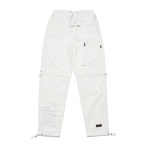 [STIGMA]STGM TECH STRING JOGGER PANTS - WHITE