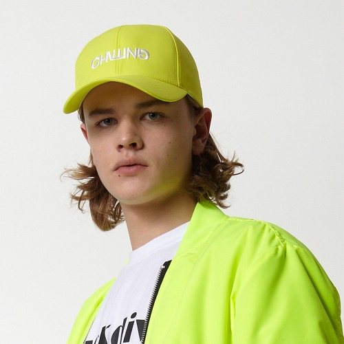 [DUCK DIVE] CHILLING_CAP_NEON YELLOW