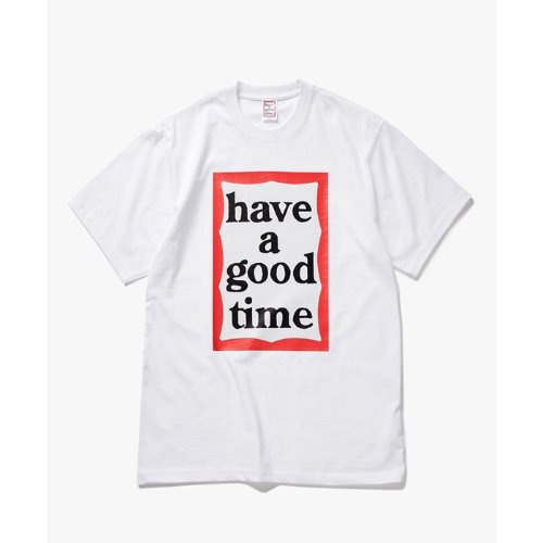 [Have a good time] Big Frame S/S Tee - WHITE