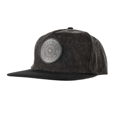 [Spitfire] OG SWIRL PATCH Snapback Hat - BLACK ACID WASH/BLACK 50010163A00