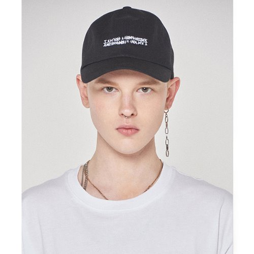 Basic Logo Hat - BLACK
