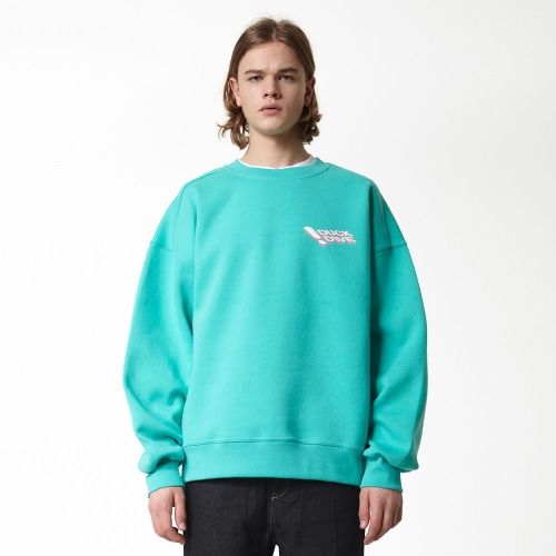 [DUCK DIVE] PFME_CREWNECK_BLUEMINT