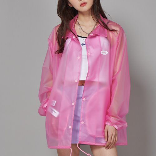 FRESH COACH JACKET - PINK